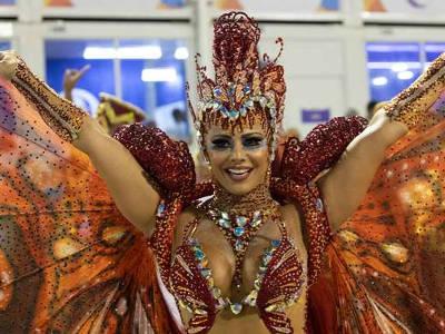 Sexy donne carnevale Rio de Janeiro
