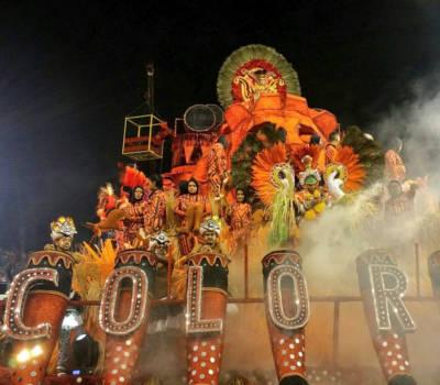 san paolo carnevale 2019 - brasile , carri