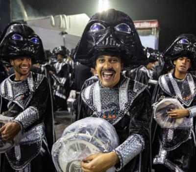 carnevale san paolo brasile 2019 , costumi scuola di samba